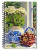 Chinese Melon Jar Spiral Notebook