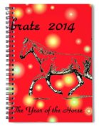 Chinese New Year 2014 Spiral Notebook