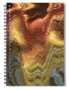 Chinese Opera Abstract Spiral Notebook
