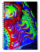 Chinese Tapestry Abstract Spiral Notebook