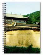 Chinese Temple Spiral Notebook