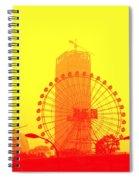 Chinese Wonder Wheel Spiral Notebook
