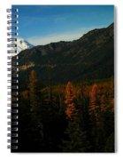 Chinnock Pass From Masatchee Falls Spiral Notebook