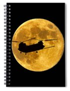 Chinook Moon Color Spiral Notebook