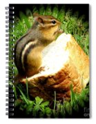Chipmunk Saying Grace Spiral Notebook
