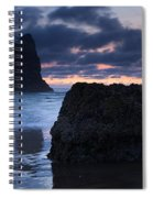 Chiseled By The Sea Spiral Notebook