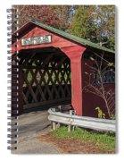 Chiselville Covered Bridge Spiral Notebook