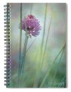 Chive Garden Spiral Notebook