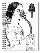Chloroform Inhaler, 1858 Spiral Notebook