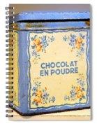 Chocolat En Poudre Spiral Notebook