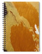 Chocolate And Caramel   Spiral Notebook