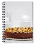 Chocolate Cake Spiral Notebook