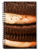 Chocolate Cookies Spiral Notebook
