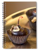 Chocolate Covered Spiral Notebook