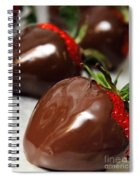 Chocolate Covered Strawberries Spiral Notebook