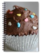 Chocolate Cupcake Spiral Notebook