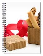 Chocolate Gift Spiral Notebook