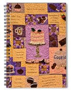 Chocolate Holiday Spiral Notebook
