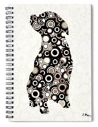 Chocolate Lab - Animal Art Spiral Notebook