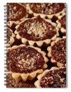 Chocolate Pecan Tarteletts Spiral Notebook