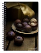 Chocolate Pralines Spiral Notebook