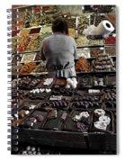 Chocolate Shop Spiral Notebook