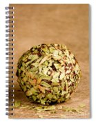 Chocolate Truffles Rolled In Thyme Spiral Notebook