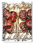 Chocolates - Illustration - Dish - Candy Spiral Notebook