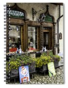 Chocolatier In Gruyeres Spiral Notebook
