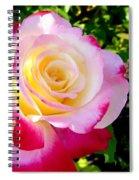 Choice Garden Rose Spiral Notebook