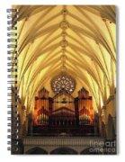 Choir Loft At Saint Josephs Cathedral Buffalo New York Spiral Notebook