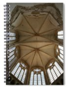 Choir Vault St Thibault Spiral Notebook