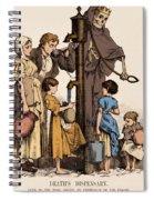 Cholera-infected Pump, 1854 Spiral Notebook