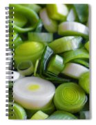 Chopped Scallions Spiral Notebook