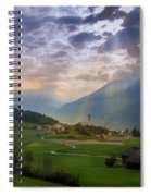 Chosen Village Spiral Notebook