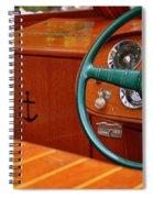 Chris Craft Cockpit Spiral Notebook