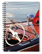 Chris Craft Deluxe Runabout Spiral Notebook