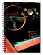 Chris Craft Interior With Gauges Spiral Notebook