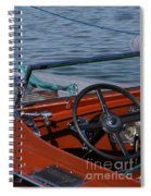 Chris Craft Triple Cockpit Spiral Notebook