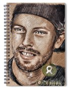 Chris Martin Spiral Notebook