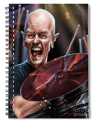 Chris Slade Spiral Notebook