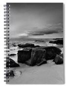 Chris's Rock 2013 Black And White Spiral Notebook