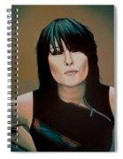 Chrissie Hynde Painting Spiral Notebook