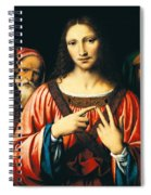 Christ Among The Doctors Spiral Notebook