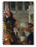 Christ Among The Doctors In The Temple Spiral Notebook