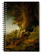 Christ And St Mary Magdalen At The Tomb Spiral Notebook