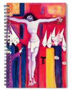 Christ And The Politicians Spiral Notebook