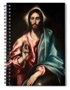 Christ As Savior Spiral Notebook