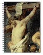 Christ Between The Two Thieves, 1620 Spiral Notebook
