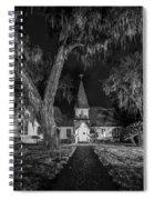 Christ Church Bw Spiral Notebook
